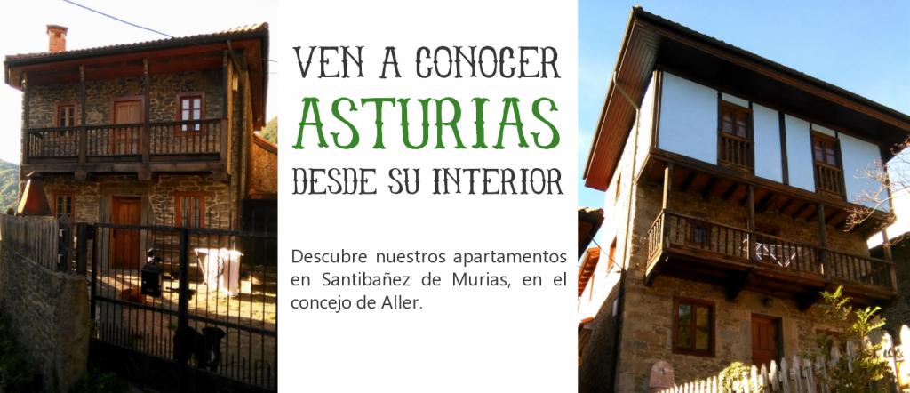 Apartamentos en el interior de Asturias