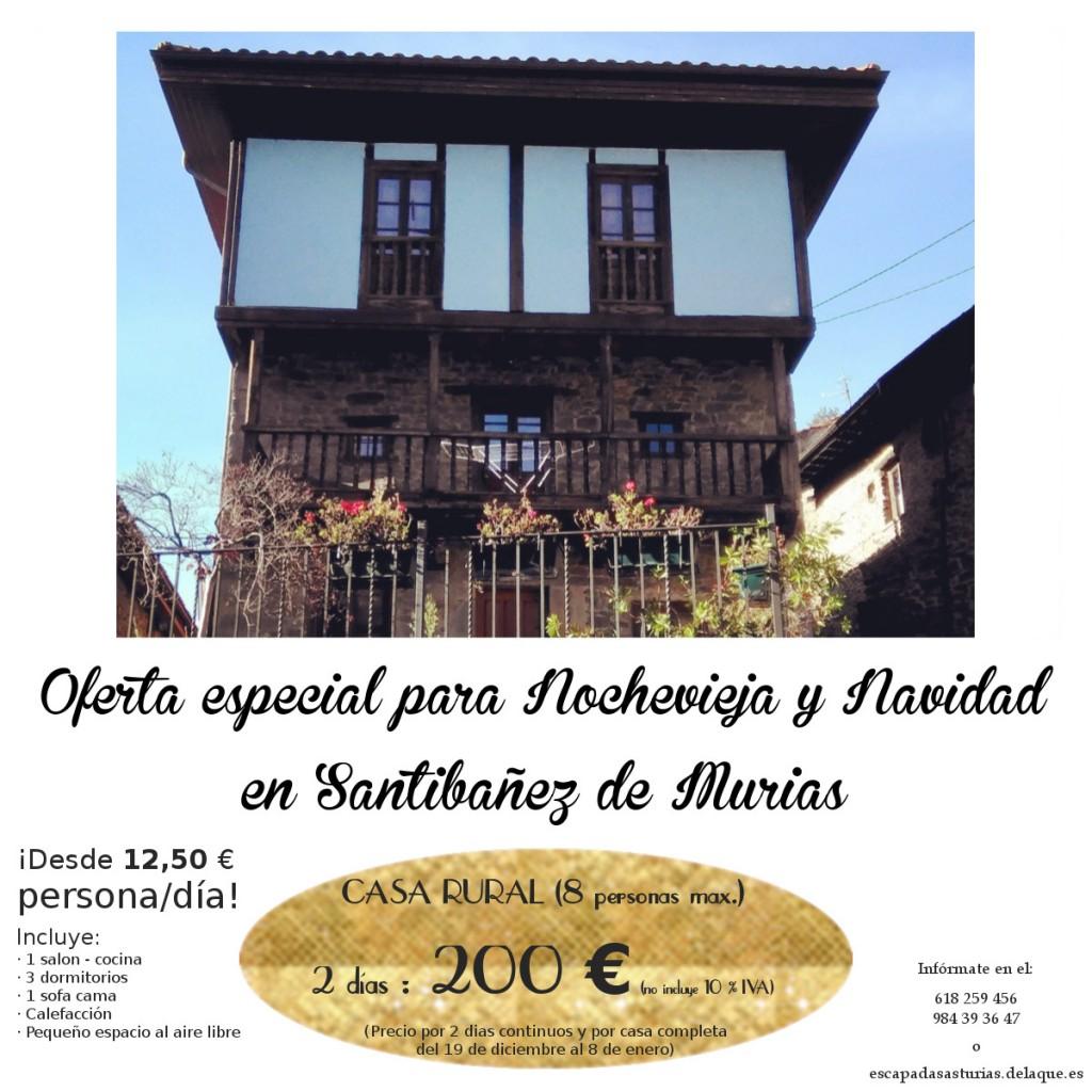 nochevieja en casa rural asturias